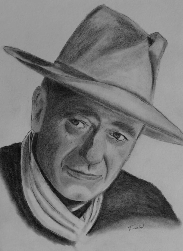 John Wayne por tmac1965